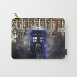 tardis dr who in the future Carry-All Pouch