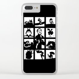 Tribute to Miyazaki Clear iPhone Case