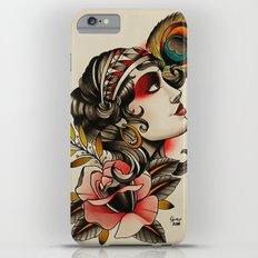 Gipsy girl - tattoo iPhone 6 Plus Slim Case
