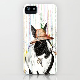 Oh Bunny iPhone Case