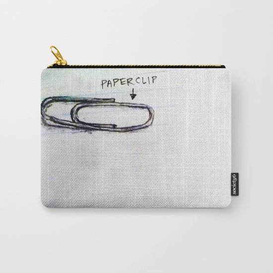 Paper Clip Carry-All Pouch