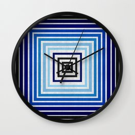 Fashion and blue pattern Wall Clock