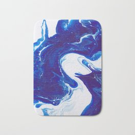 Blue (2 of 3) Bath Mat