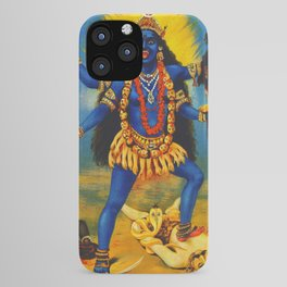 Kali By Raja Ravi Painting iPhone Case