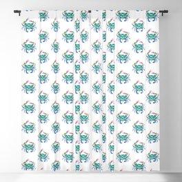Blue Crab Blackout Curtain