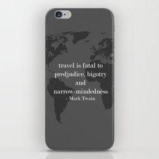World Travel iPhone & iPod Skin