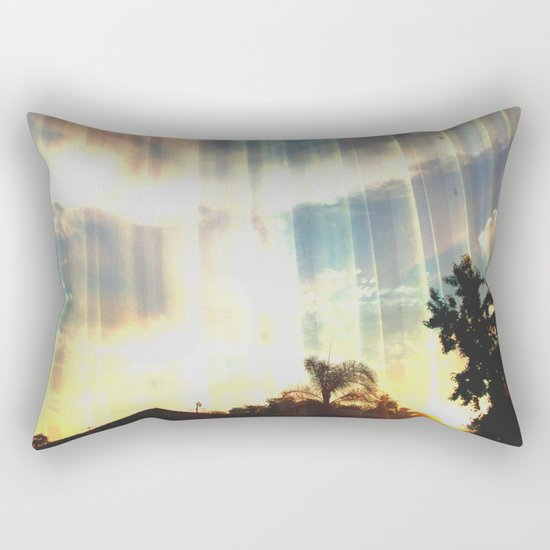 Enter to the Divine Rectangular Pillow