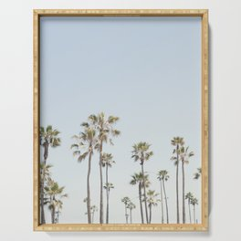 California Palm Trees II Serving Tray
