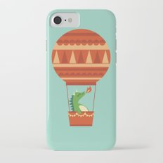 Dragon On Hot Air Balloon iPhone 7 Slim Case
