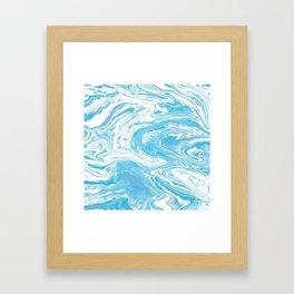 Marbled Sky Framed Art Print