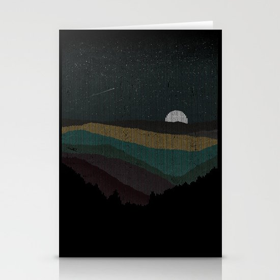 Moonrise (Color) Stationery Cards