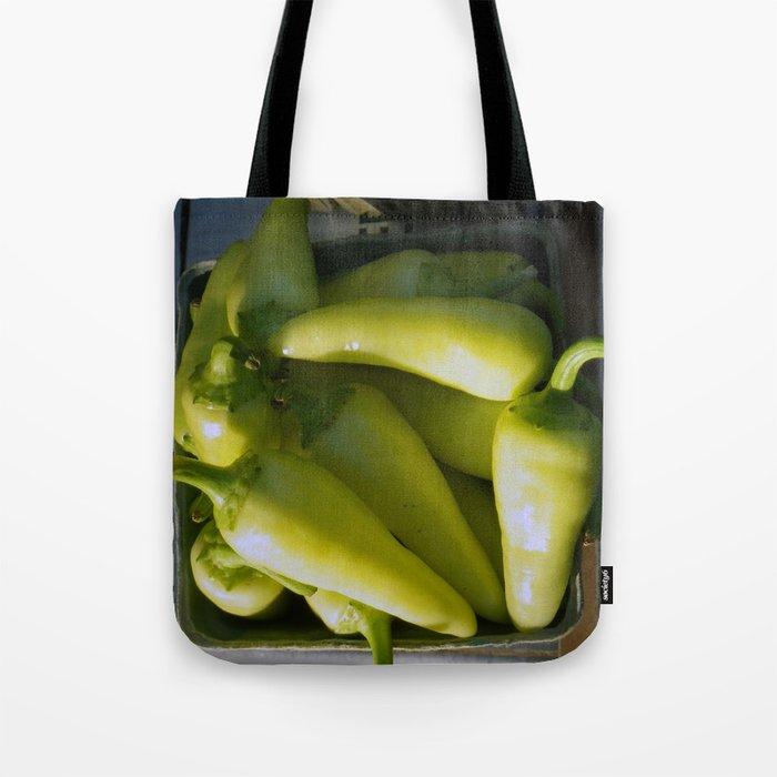 Yellow Chiles In Santa Fe Tote Bag By Bettymackey Society6
