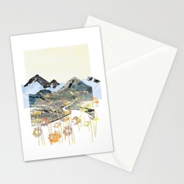 Daisy Mountain - Art Collage Stationery Cards