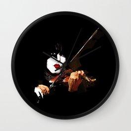 Paganini Devil Violinist 2 Wall Clock