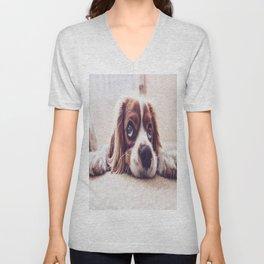 Bobby Dog Unisex V-Neck