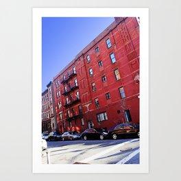 New York City Buildings NYC Art Print
