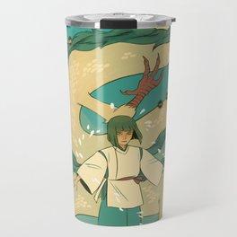 Haku and Chihiro Travel Mug