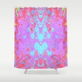 Tiki Fire Dance Shower Curtain