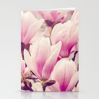 magnolia Stationery Cards featuring Magnolia by Juste Pixx Photography