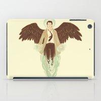 castiel iPad Cases featuring Castiel by Armellin
