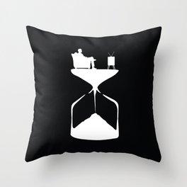 Hourglass Throw Pillow