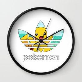 poketmon Adidaz Wall Clock