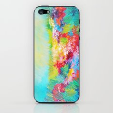 ETHERIAL DAYS - Stunning Floral Landscape Nature Wildflower Field Colorful Bright Floral Painting iPhone & iPod Skin
