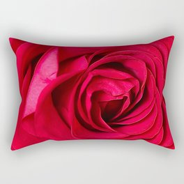 Red Rose Close-up #decor #society6 #buyart Rectangular Pillow