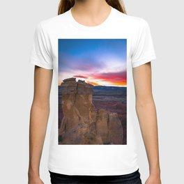 New Mexico Chimney Rock Sunset T-shirt