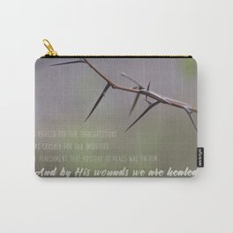 We Are Healed Carry-All Pouch