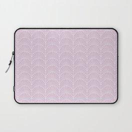 Art Deco Lavender Fields by Friztin Laptop Sleeve