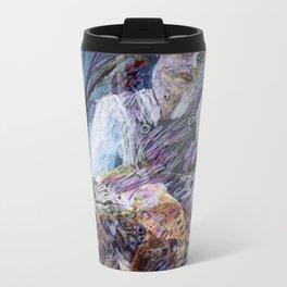 She Leopard Metal Travel Mug