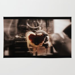 A Man's Heart : Chevy Camaro Engine Rug