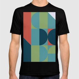 Geometric Colorful Art Pattern T-shirt