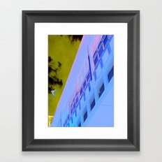 Corner Office Framed Art Print