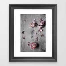 The wild flowers grows here Framed Art Print