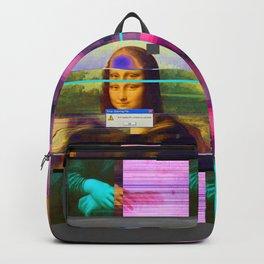 Mona Lisa _corrupt Backpack