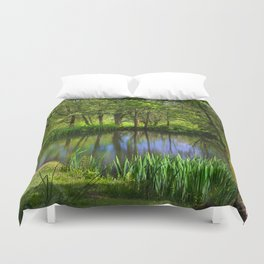 Spring views Duvet Cover