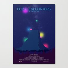 Close Encounters of the Third Kind Canvas Print