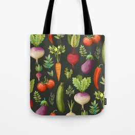 Garden Veggies Tote Bag