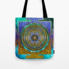 Yantra Mantra Mandala #1 Tote Bag