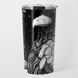 Steller's sea eagle (Haliaeetus pelagicus) Travel Mug