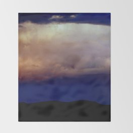 Storm's a'brewin' Throw Blanket