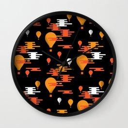 Travel - Hot Air Wall Clock