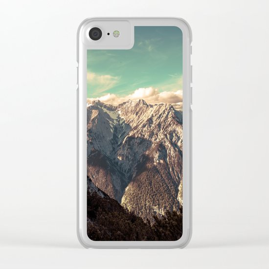 Alpine Magic Clear iPhone Case