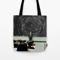 study Tote Bags featuring study by Ashley Moye