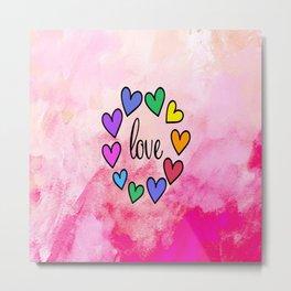 Love 118 Metal Print