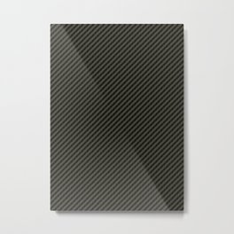 Carbon Fibre Image Metal Print