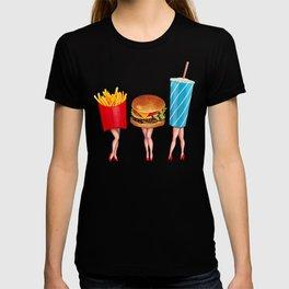 Combo Meal Pin-Ups T-shirt