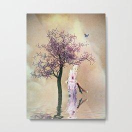 Blossom angel Metal Print